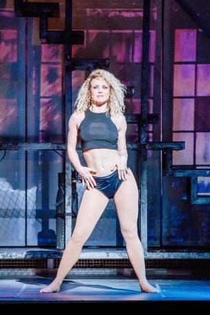 Flashdance, the musical. Kings Theatre, Glasgow. 5th August 2017